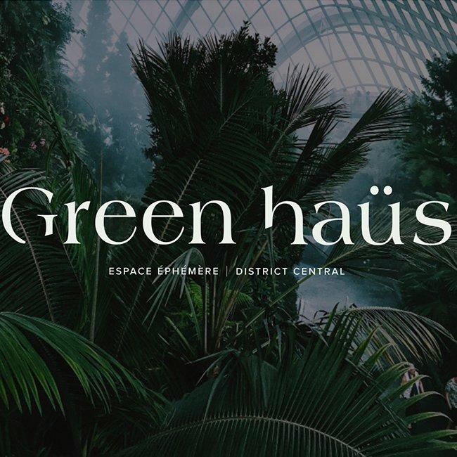 Green-Haus logo